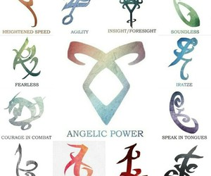 runes and shadowhunters image