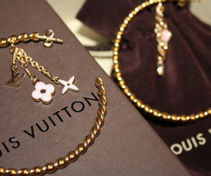 Louis Vuitton, fashion, and earrings image