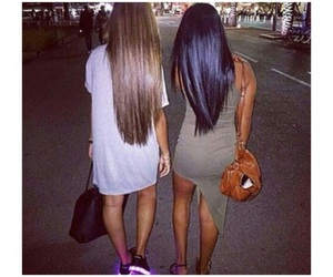 friends and long hair image