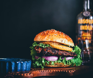 burger, food, and sandwich image
