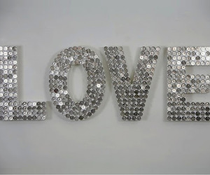 love and silver image
