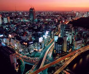 city, tokyo, and japan image