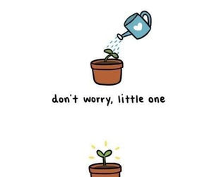 chibird, plants, and inspiration image