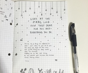 cacti, stars, and tumblr doodles image