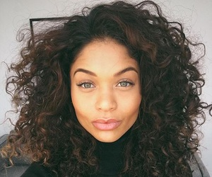 beauty, curly hair, and goals image