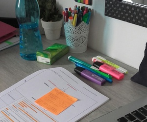 desk, school, and student image