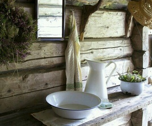 bath, cottage, and country image
