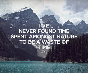 quote, nature, and time image