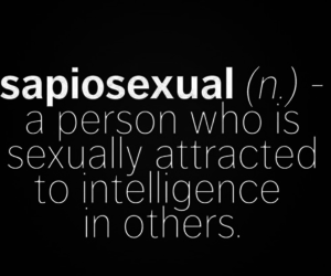 cool, intelligence, and sapiosexual image