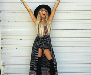 coachella, lele pons, and outfit image