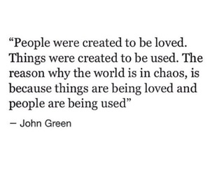 chaos, john green, and people image