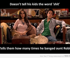 himym, ted mosby, and robin image