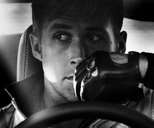 ryan gosling, drive, and movie image