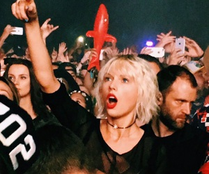 bleach, Taylor Swift, and coachella festival image