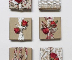 recycled paper, gift pack, and gift pack ideas image