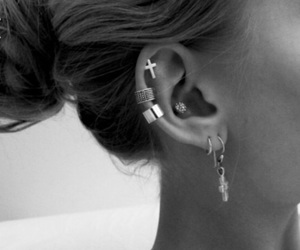 beautiful, beauty, and earrings image