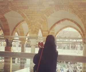 mecca, müslimah, and masjidalharam image