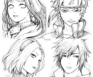 naruto, hinata, and sakura image