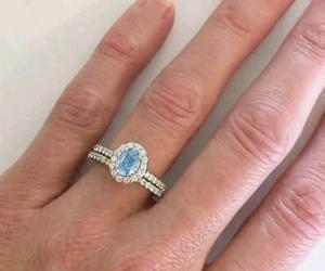 Dream, engagement ring, and nails image