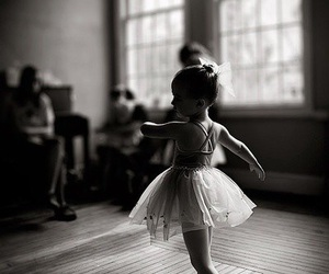 ballerina, ballet, and child image