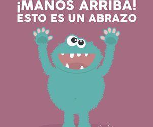 abrazo, divertido, and humor image