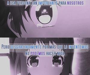 frases, frases en español, and frases anime image