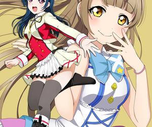 anime girl, beautiful, and kotori minami image