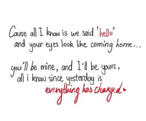 everything has changed, song, and Taylor Swift image