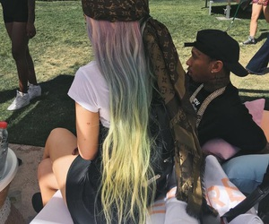 kylie jenner, hair, and tyga image