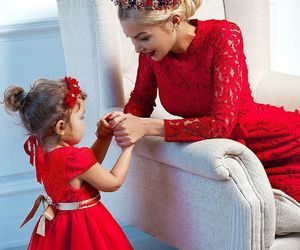 baby, dress, and beauty image