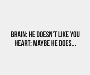 brain, heart, and quote image