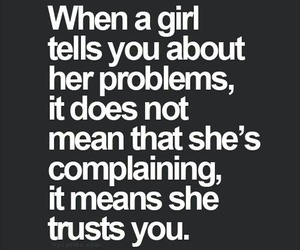 girls, Relationship, and trust image