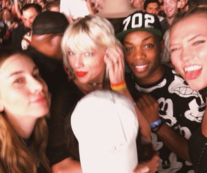 Taylor Swift, Karlie Kloss, and coachella image