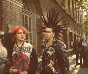 punk and girl image