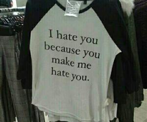 hate, black, and grunge image