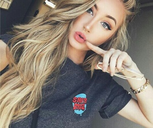 girl, blonde, and tumblr image