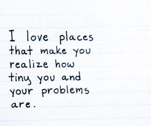 quote, problem, and place image