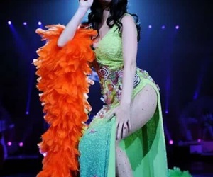 katy perry, i kissed a girl, and california dreams tour image