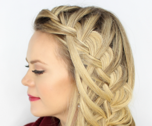 hairstyle and hairstyle tutorial image