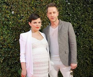 once upon a time, josh dallas, and pregnant image