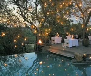 light and pool image
