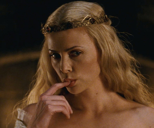 blonde, Charlize Theron, and fantasy image