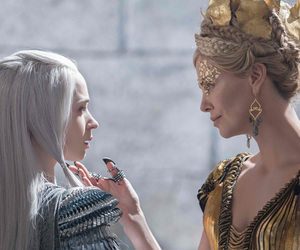 Charlize Theron, Emily Blunt, and freya image
