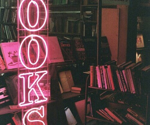 book, pink, and grunge image