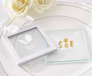 beach, coaster, and personalizedfavors image