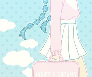 dreams, kawaii, and pastel image