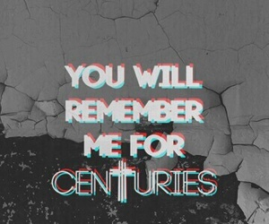 fall out boy, centuries, and FOB image
