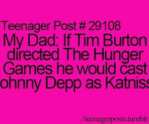 funny, johnny depp, and tim burton image