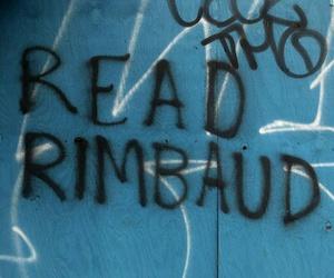 graffiti and rimbaud image