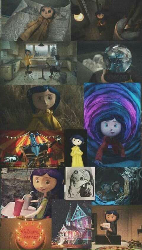 Image About Wallpaper In Coraline By Jennifer Itzel Perez Ayal